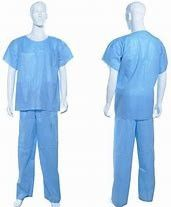 Comfortable Disposable Surgical Suit , Disposable Workwear Soft Hand Feeling