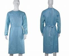 Customized Colored Disposable Hospital Gowns , Disposable PPE Coveralls S - 6XL